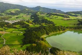 LAGOA VERDE – Ponta Delgada-Ilha de São Miguel-Açores-Portugal
