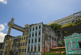 ELEVADOR E PRÉDIOS – Salvador-Bahia-Brasil