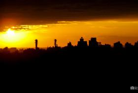 SILHUETA ZONA LESTE – Porto Alegre-Rio Grande do Sul-Brasil